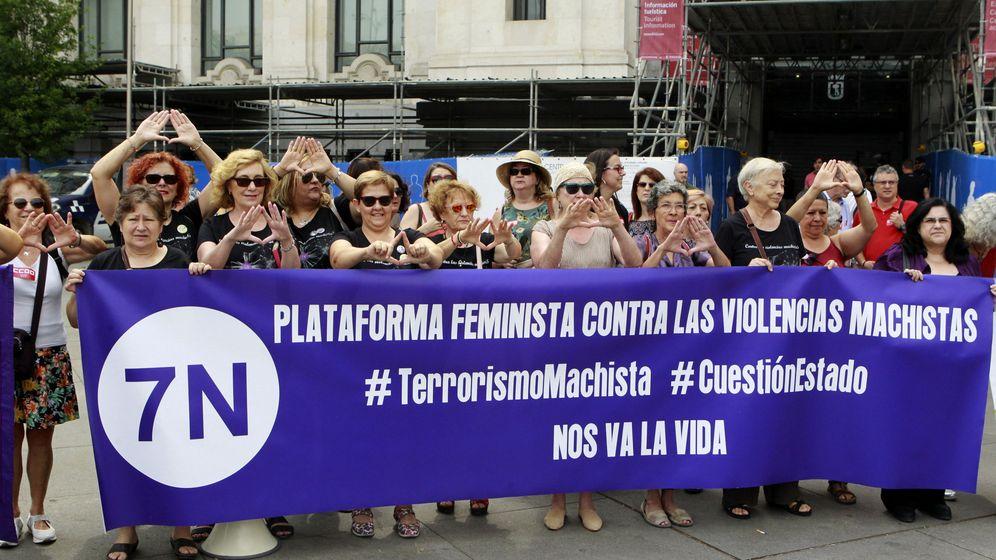 Foto: Concentración contra la violencia machista. (EFE)