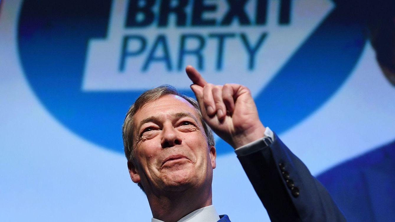 Farage lidera todas las encuestas para las europeas: ¿quién financia el Brexit Party?