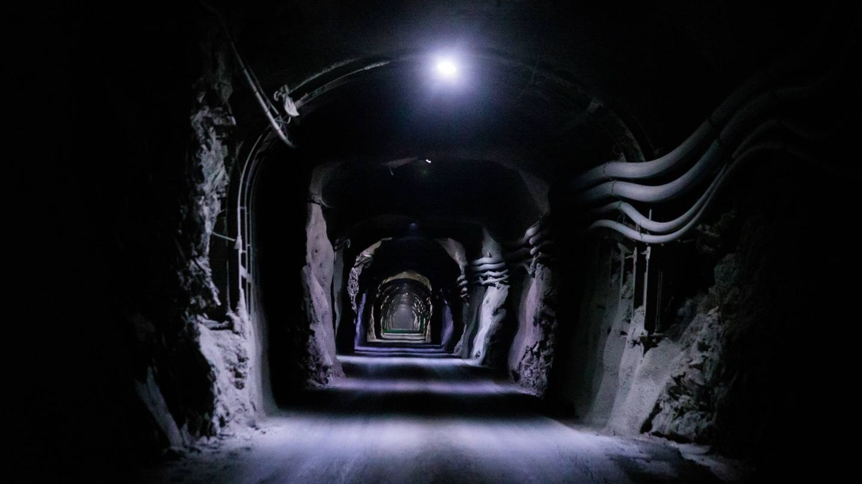 Interior de la mina de Sotiel. (Matsa)
