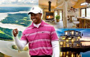 Tiger Woods vende su isla privada de Suecia