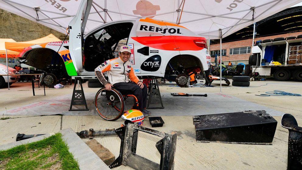 Isidre Esteve, el eterno dakariano que en silla de ruedas  le pide más caña al Dakar