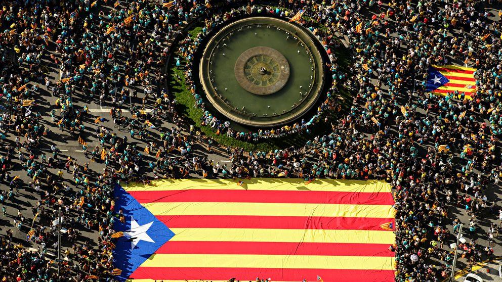 Guerra de ANC y Òmnium contra los CDR: el pulso por dominar las calles catalanas