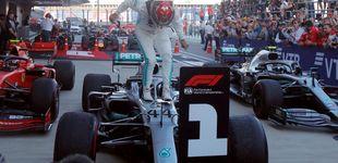 Post de Hamilton sentencia el mundial en Rusia, Ferrari falla y Carlos Sainz acaba 6º