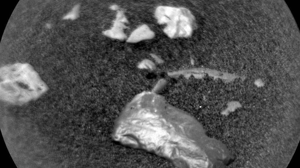 Foto: Imagen conseguida con cámara química del objetivo 'Little Colonsay' (Foto: NASA)