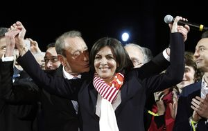 Las vacaciones en Chiclana de la nueva alcaldesa de París