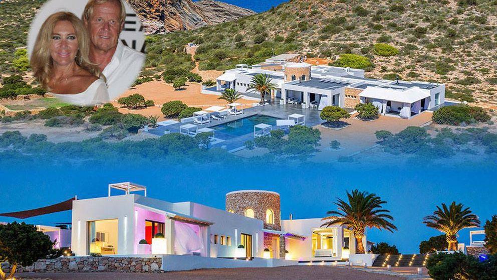 Alquile  por 22.000 euros al día la isla balear de la pareja de Norma Duval