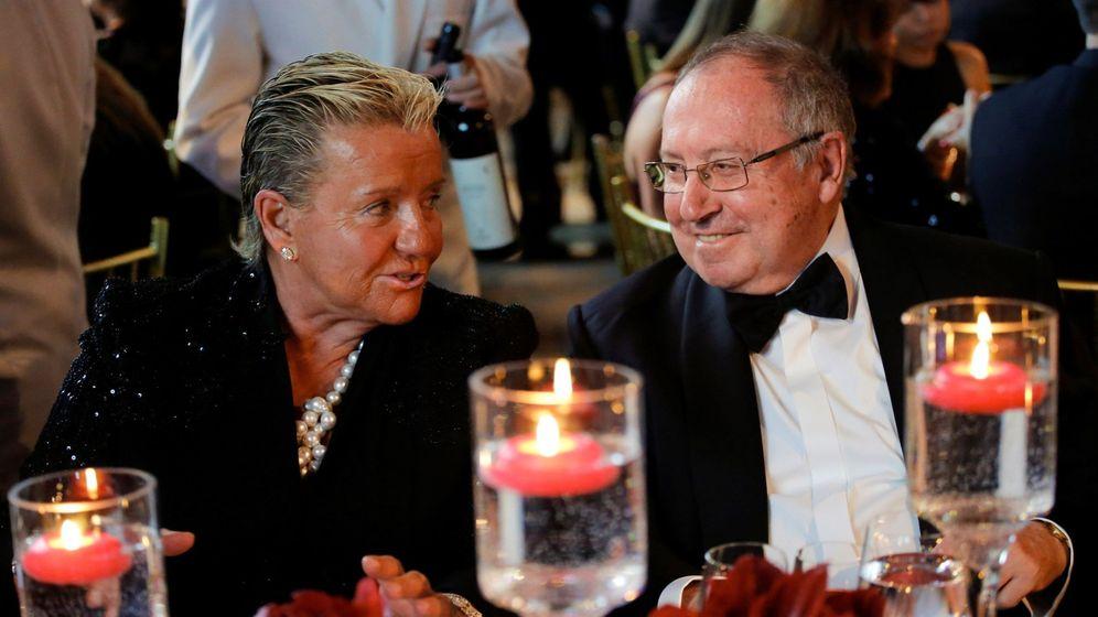 Foto: La presidenta ejecutiva de Eulen e hija de su fundador recibe un premio en EEUU. (EFE)