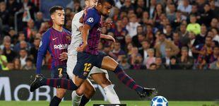Post de Rafinha se calza las botas de Messi y el Barcelona no nota ese bajón