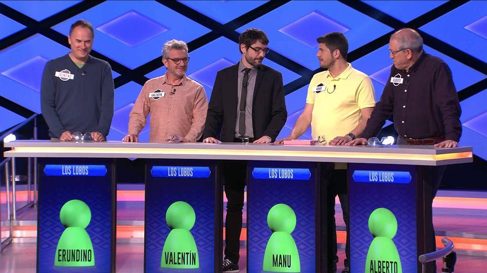 Foto: Erundino, Valentín, Juanra Bonet, Manu y Alberto. (Atresmedia)
