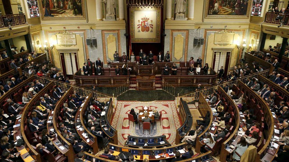 Foto: Vista general del Congreso de los Diputados durante la primera sesión de la XI Legislatura. (Reuters)