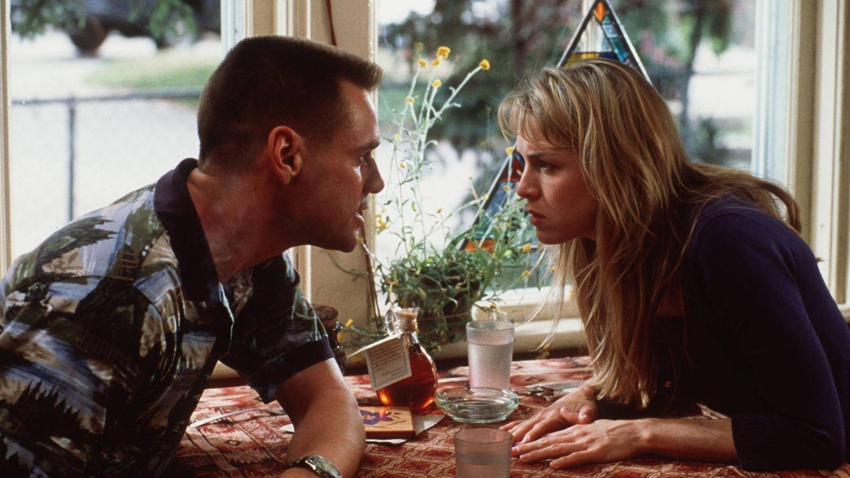 Con Jim Carrey en la película 'Yo, yo mismo e Irene'. (Getty)