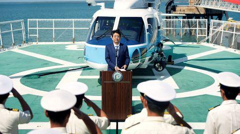Shinzo Abe visita a las tropas japonesas en Australia
