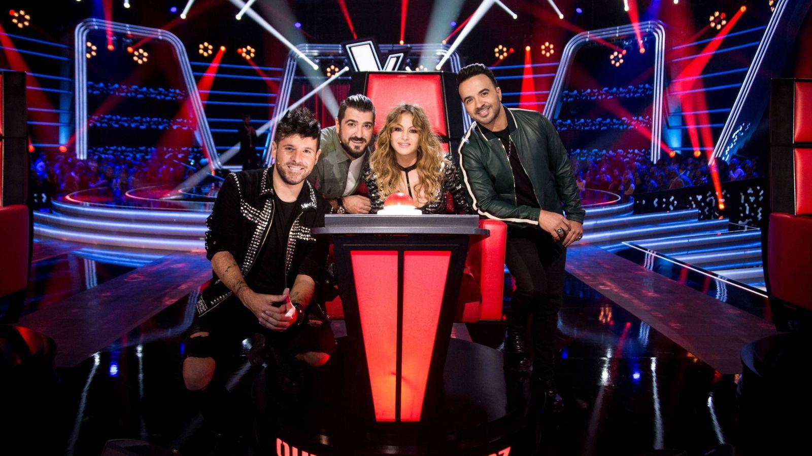 Foto: Análisis del estreno de 'La Voz' en Antena 3. (Atresmedia)