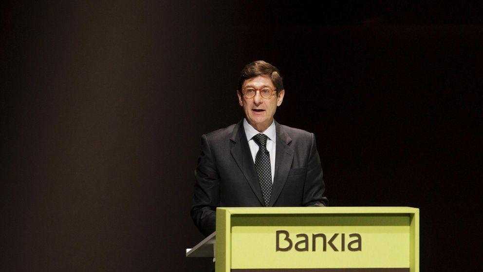 Bankia presume de que podría comprar bancos pero Bruselas no se lo permite