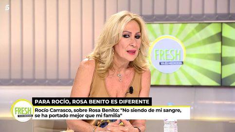 La (esperada) respuesta de Rosa a Rocío Carrasco: Le estoy agradecida, pero...