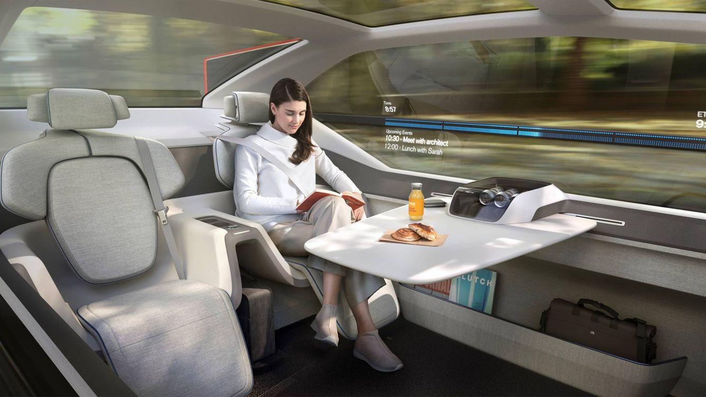 Foto: Concepto de coche autónomo c360. (Volvo)