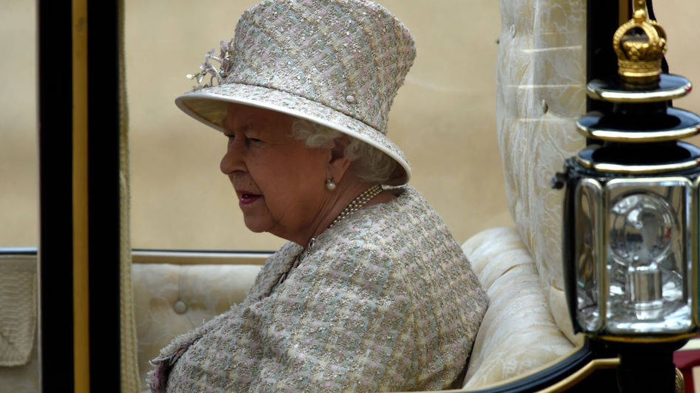 Isabel II en el 'Trooping The Colour 2019'. (Getty)