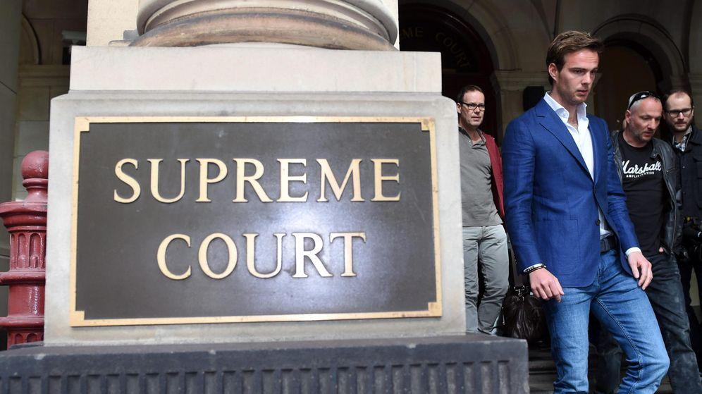 Foto: Giedo van der Garde durante su juicio en Australia (EFE)