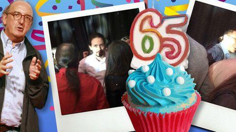 Roures tira la casa por la ventana en su 65 cumpleaños con Iglesias y Monedero