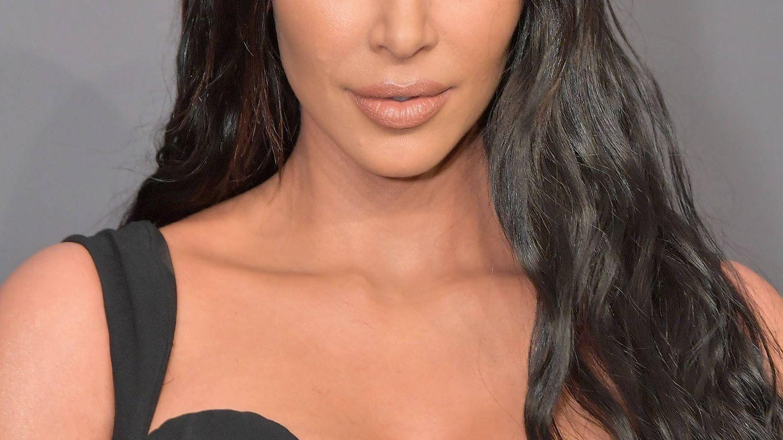 Kim Kardashian en la amfAR New York Gala. (Getty)
