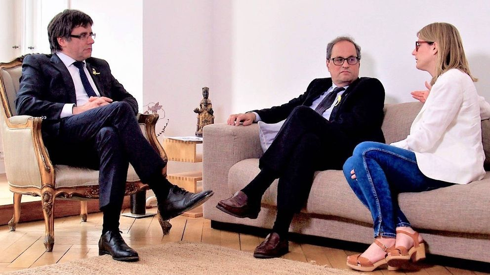 Puigdemont elige a Quim Torra como candidato a presidir la Generalitat