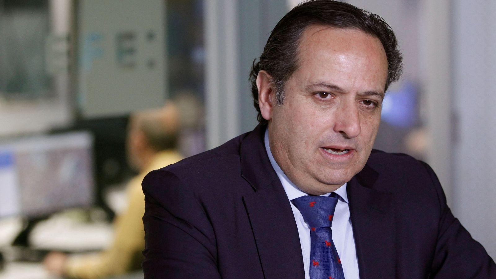Foto: Juan Pablo Lázaro, en una entrevista con la agencia EFE en marzo de 2018