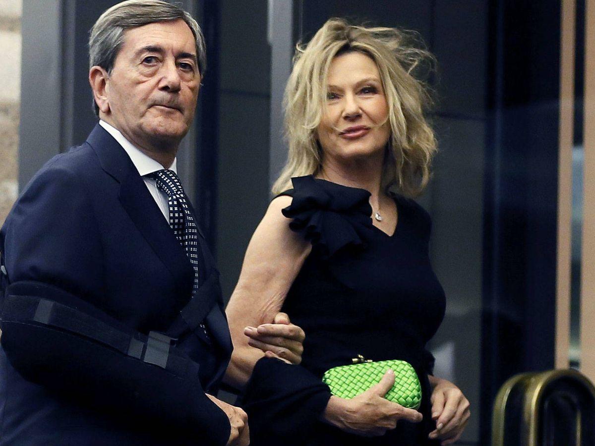 Foto: Alfonso Cortina y Miriam Lapique, en una imagen de archivo. (EFE)
