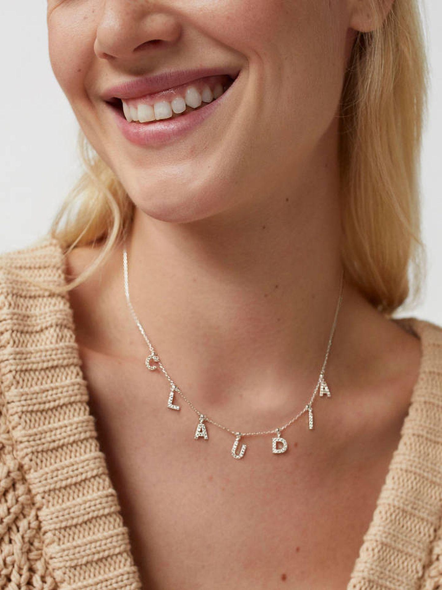 Los collares personalizados de Parfois. (Cortesía)