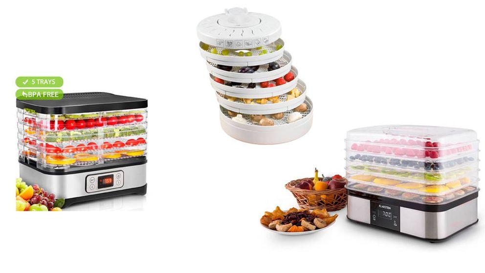 Los deshidratadores de alimentos que necesitas en casa para comer sano y rico