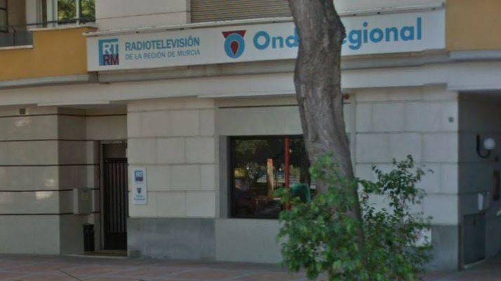 Foto: La sede de Radiotelevisión de Murcia. (Foto: Google Maps)