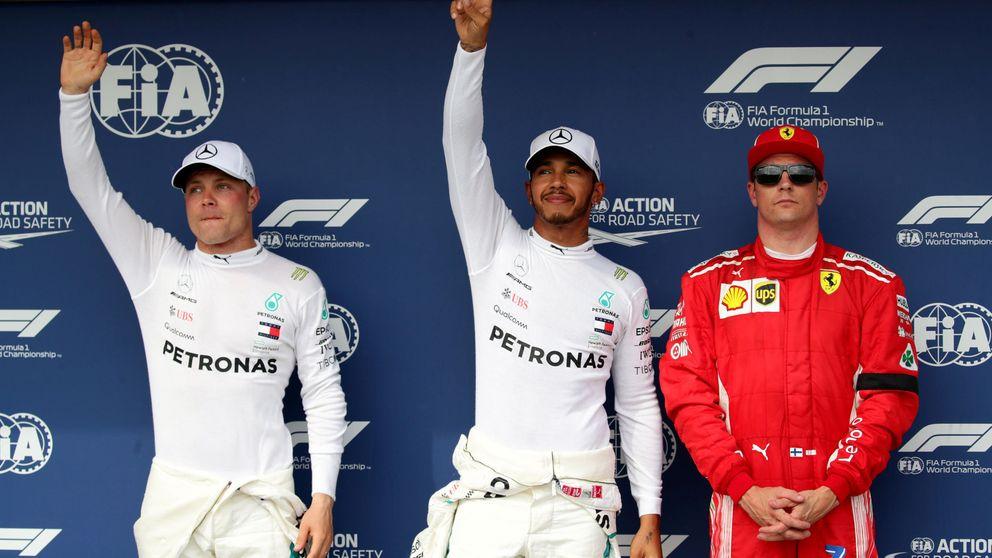 La clasificación del GP de Hungría: Pole de Hamilton con Sainz 5º y Alonso 11º