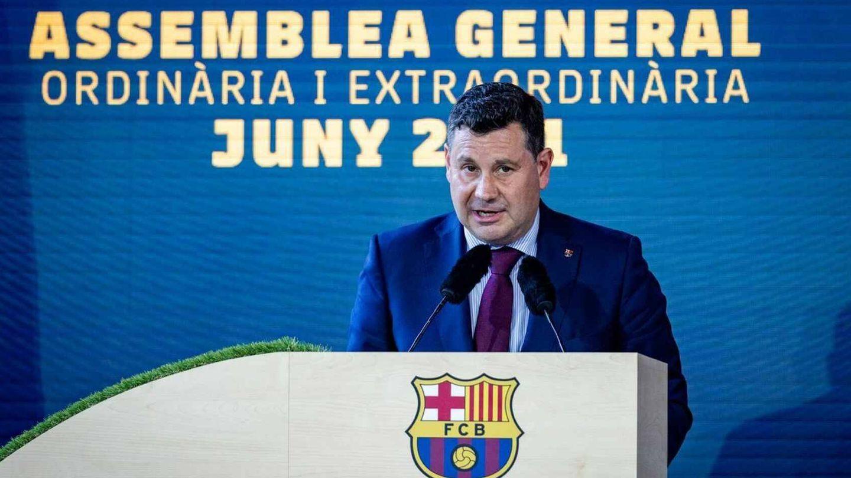 Eduard Romeu, vicepresidente económico de Joan Laporta. (FC Barcelona)