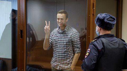 El servicio penitenciario de Rusia dice que Navalni ya pesa 82 kilos y se ha recuperado
