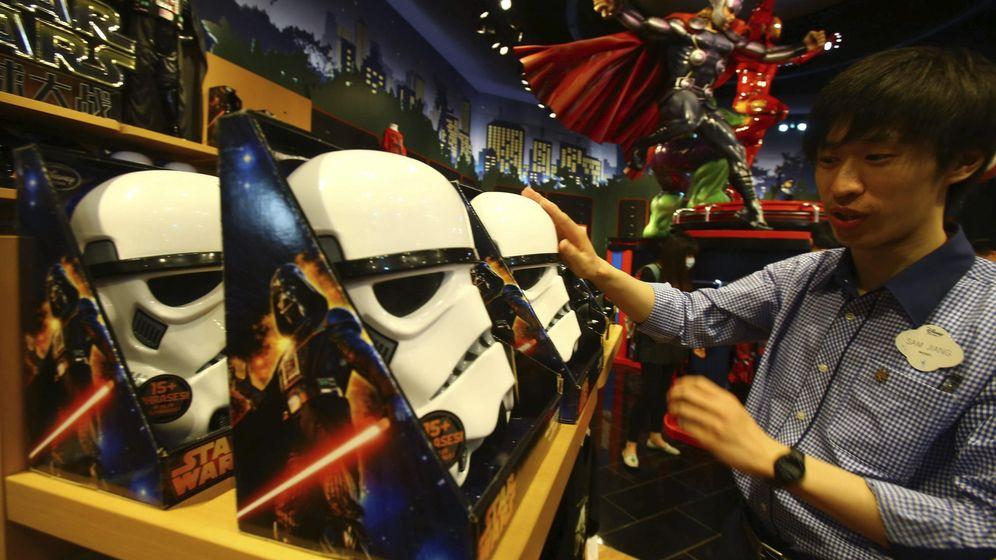 Foto: Disney inicia su estrategia de entrada en China con su mayor tienda mundial (EFE)