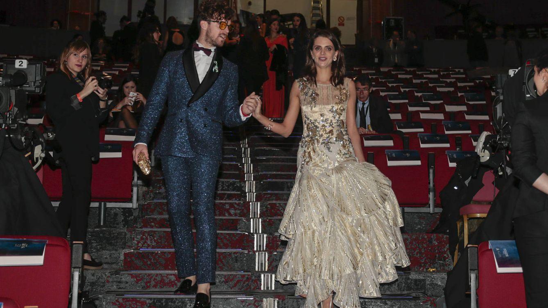 Foto: Macarena Gómez y Aldo Comas en la gala de los Goya (Gtres)