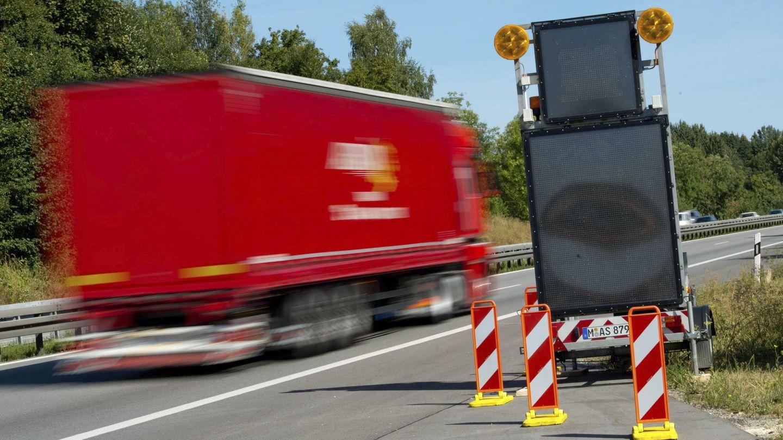 El camionero huyó a toda velocidad (EFE/Sven Hoppe)
