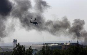 Bombardeos y combates traen la guerra a Donétsk: dejan 100 muertos