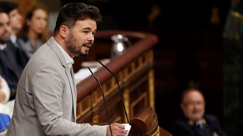 Gabriel Rufián en su discurso en la segunda sesión de investidura: La izquierda ha perdido una vez más