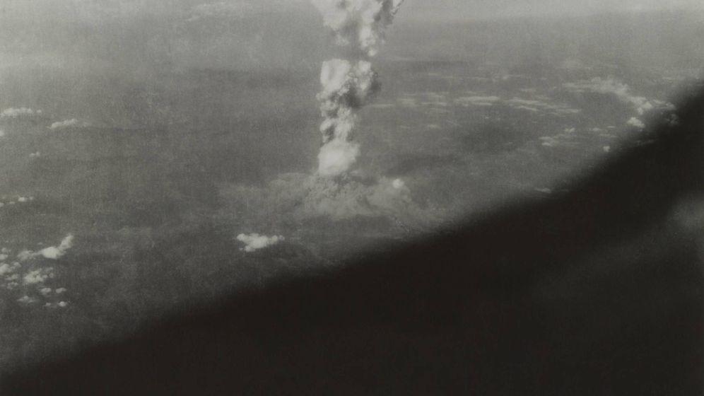 Foto: La bomba atómica de Hiroshima, captada desde el Enola Gay. (Reuters)