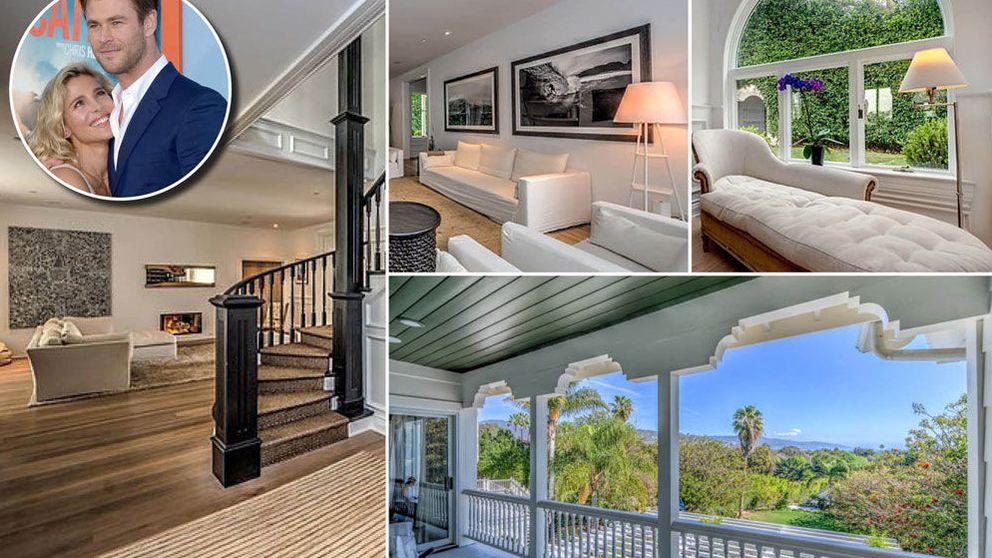 Elsa Pataky y Chris Hemsworth ponen en venta su casa de Malibú por 6 millones de dólares