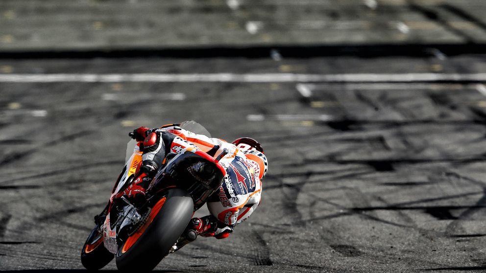 """Peligro: Márquez regresó en Silverstone al """"puerta grande o enfermería"""""""