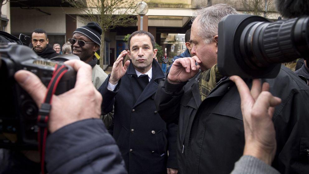 Hamon, el rebelde de los socialistas franceses, gana a Valls en las primarias