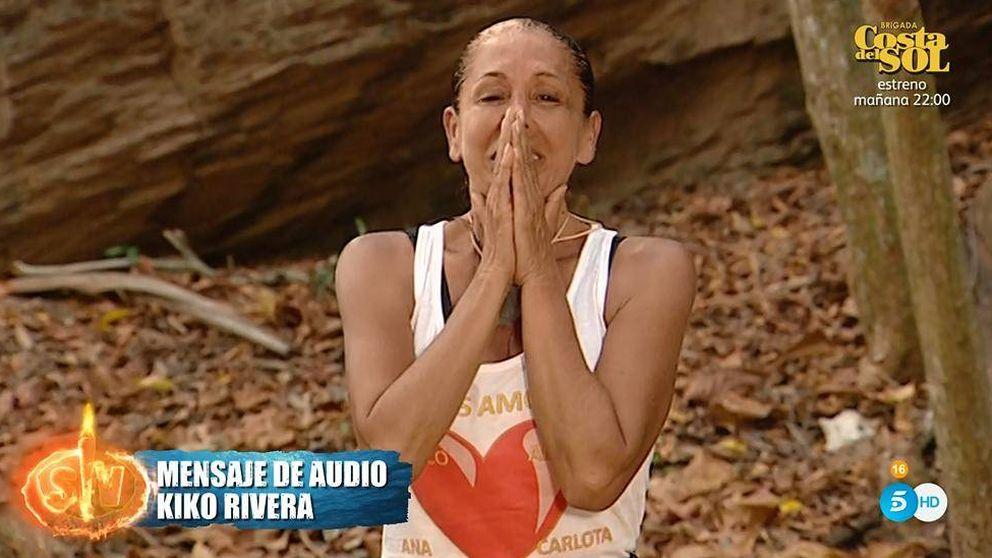 Isabel Pantoja eleva su tonteo con Colate en 'Supervivientes': Cuídate, mi amor