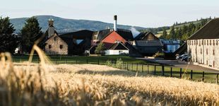 Post de Balvenie, un castillo convertido en destilería de whisky escocés