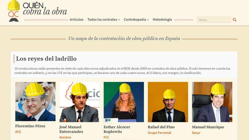 Foto: 'Quién cobra la obra'