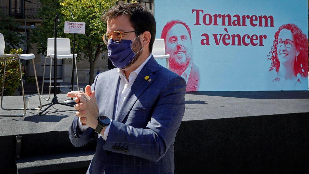 Foto: El coordinador nacional de ERC y vicepresidente del Govern, Pere Aragonès. (EFE)