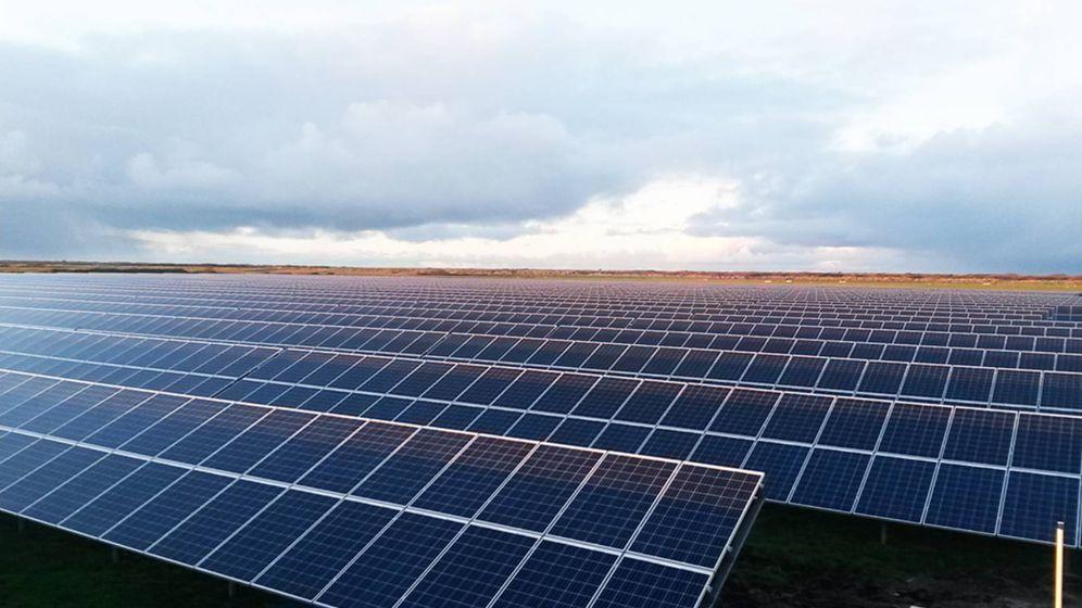 Foto: El parque de Talayuela tendrá una potencia instalada de 300MW y estará conectado a la red en 2020, según sus inversores.