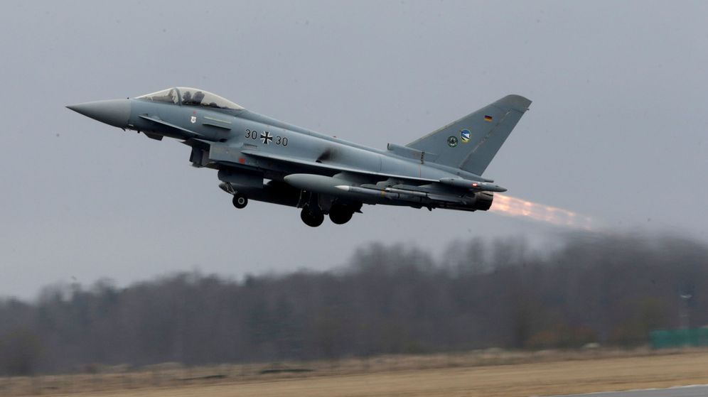 Foto: Eurofighter. (Reuters)