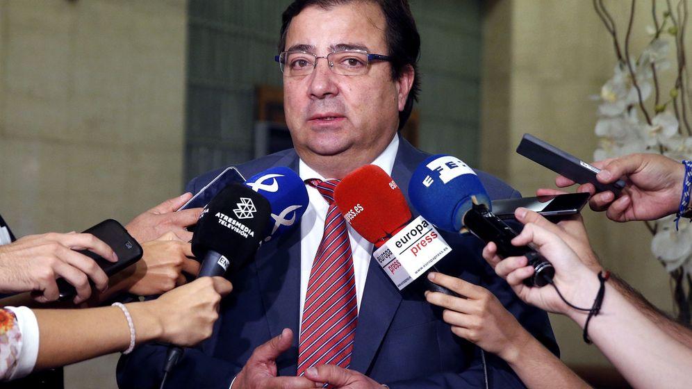 Foto: El líder de los socialistas extremeños y presidente de la Junta, Guillermo Fernández Vara. (EFE)