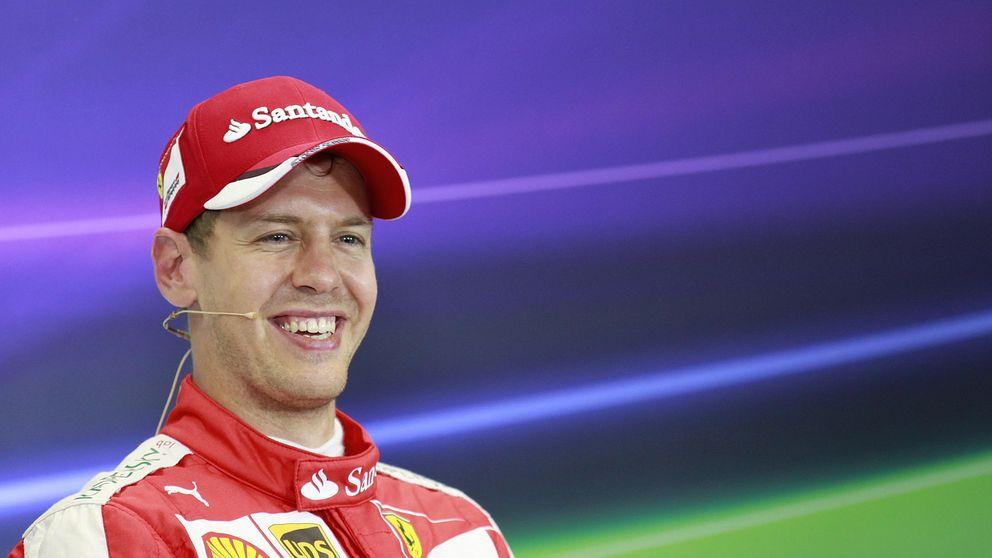 Sebastian Vettel, un cachondo mental con puño de hierro y guante de seda